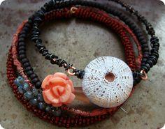 Humblebeads  multi-strand bracelet