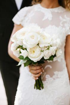 bridal bouquet; photo: LEVI STOLOVE PHOTOGRAPHY