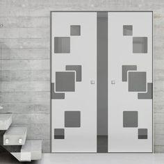 Glass Pocket Doors – Page 11 Glass Pocket Doors, Sliding Glass Door, The Doors, Creative Design, Hardware, Contemporary, Interior, Furniture, Beautiful