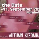 Autumn KizomBachata-Festival 2016  Zusätzlich zu unserem erfolgreichen KizomBachata-Festival im Frühling welches bereits zum dritten Mal stattfindet bieten wir euch vom 9.  11. September 2016 zwei erstklassige Tanzpaare aus Spanien bei unserem 1. Herbst-Festival an. Für alle Interessierten die noch keine Bachata- und/oder Kizomba-Erfahrung haben gibt es ein Beginner-Bootcamp inklusive aller Partys.  Yanis & Lara für Kizomba/Semba/Afro []  Mehr Salsa Bachata Kizomba Informationen auf…