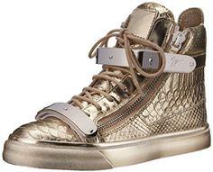 Giuseppe Zanotti Women's Metallic High Top Fashion Sneaker from $26.99 by Amazon BESTSELLERS