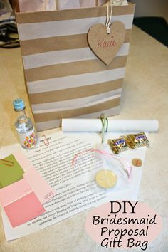 Image result for diy bridesmaid proposal