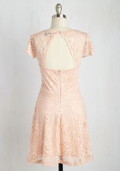 Learn the Sweetheart Way Dress. Choosing this lace dress for a trial-and-error experiment to find your favorite feminine style, youll learn that instead of errors, youll discover endless successes! #blush #modcloth