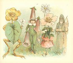Grandmother's spring  Author - Juliana Horatia Gatty Ewing  Illustrator - R. (Richard) André