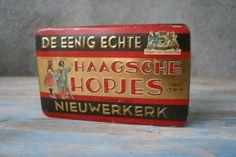 Blikje Haagsche Hopjes Nieuwerkerk.