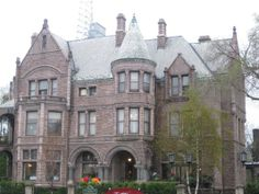 The Whitney 4421 Woodward Detroit #rwfempowers.  Once a great mansion; now a great place to eat.