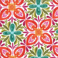 Kate Spain, Terrain, Stonecrop Fabric in Bloom - By the Yard