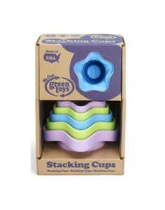 Green Toys Stacking Cups Set Of 6 - Ballantynes
