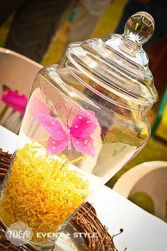 Enchanted Fairy Garden Party by IDEA! event + style featured on Kara's Party Ideas #fairy #centerpiece