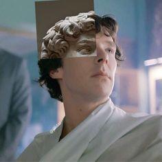 I've often thought of his resemblance to David. Sherlock Bbc, Benedict Sherlock, Sherlock Fandom, Sherlock Holmes John Watson, Sherlock Holmes Benedict Cumberbatch, Sherlock Quotes, Jim Moriarty, Supernatural Fandom, Martin Freeman
