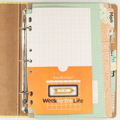 Week in the Life album by Melissa Stinson on Basic Grey's blog. Scroll down a bit to find it, it's worth it!