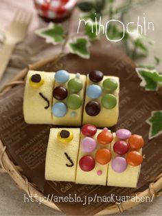 Koinobori roll cake