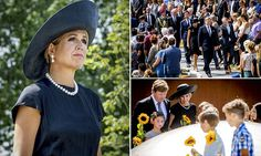 Queen Maxima dons all black at MH17 ceremony