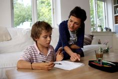 By letting your son know that you're on his side, rather than lecturing him for not being more enthusiastic about his school work, you can help him get his work done without the drama that wears everyone out.