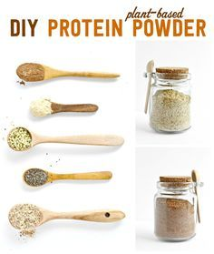 DIY Plant Based Protein Powder - make sure you completely grind the chia and hemp seeds, otherwise you will end up with a gritty texture, and seeds stuck between your teeth! The overall flavor was good, but if I make this again I will leave out the carob to allow more versatility, adding some carob when needed.