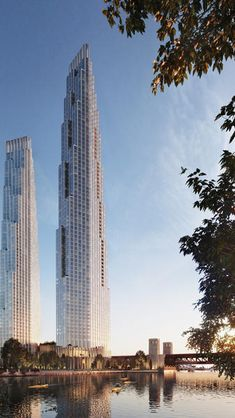 Gallery of First Images Released of SOM's Proposed Skyscrapers on Former Chicago Spire Site - 2