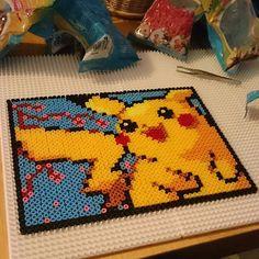Pikachu hama beads by sweetbeads