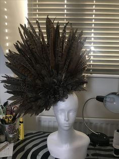 43713ddb Carrie Jenkinson Millinery has created this absolutely gorgeous Pheasant  Feather Fascinator! Just fabulous #fascinator