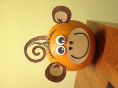 My Monkey Pumpkin via Hobby Lobby.