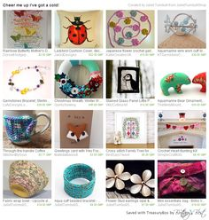 #treasurytuesday #crafthour #craftbuzz https://www.etsy.com/treasury/NTMxMzUyODV8MjcyODMwNDEyNg/cheer-me-up-ive-got-a-cold