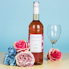 Personalised Bottle of Rose Wine - Buy from Prezzybox.com