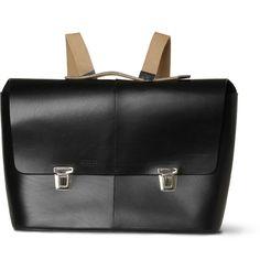 Brooks England - Eton Leather Briefcase | MR PORTER