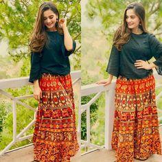 "Aiman Khan on set ""Hari Hari choudiyan"" Party Wear Indian Dresses, Pakistani Bridal Dresses, Pakistani Dress Design, Dresses For Teens, Stylish Dresses, Nice Dresses, Fashion Dresses, Women's Fashion, Formal Dresses"