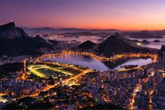 with over twenty mountain peaks in the city limits, few other cities offer as many magnificent vantage points to appreciate the city panoramically,  as does Rio.