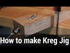 HowTo#1 How to make 9$ Kreg Pocket Hole Jig | Kreg Jig - как сделать эконом вариант - YouTube
