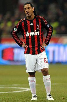 Ronaldinho con AC Milan