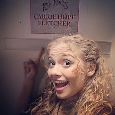 Performing at the babay! Carrie Hope Fletcher, Les Miserables, Musical Theatre, Favorite Person, I Saw, I Movie, Youtubers, Carry On, Actors & Actresses