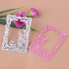 Metal Butterfly Frame Cutting Dies Stencil Scrapbooking Card Embossing Craft DIY #Unbrand
