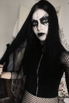 Metal Girl, Black Metal, Halloween Face Makeup, Girls, Model, Toddler Girls, Daughters, Maids