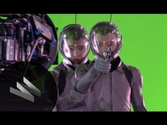 Ender's Game: Creating a Zero-G Battle Room Effects Exclusive-Design FX-...