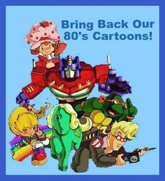 Saturday Morning Cartoons!!!