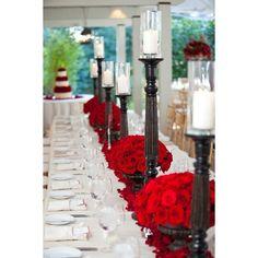 Cauldron Black/ Red -Table setting