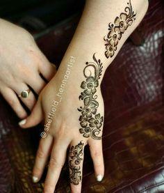 Beautiful Henna Designs, Best Mehndi Designs, Henna Mehndi, Mehendi, Mahendi Design, Arabian Art, Henna Style, Beauty Hacks, Beauty Tips