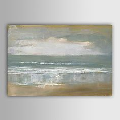"""Hand-painted Abstract Oil Painting with Stretched Frame 24"""" x 36"""" – AUD $ 91.51"""