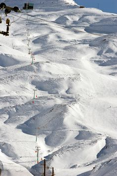 Dizin Ski Resort, Iran. Dizin is tucked away in serene calm of Alborz mountains some 120 Kms away from Tehran.