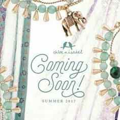 Here is a sneak peek of our Summer 2017 Collections Coming Soon!! #chloeandisabel #thecelticpearl  www.chloeandisabel.com/boutique/thecelticpearl