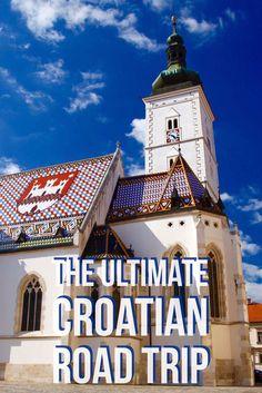 Split, Hvar, Zadar, Zagreb, Plitvice Lakes...all are great places in Croatia. Here is the ultimate road trip.