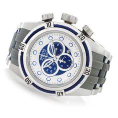 631-634 - Invicta Reserve 53mm Bolt Zeus Swiss Made Quartz Chronograph Polyurethane Strap Watch