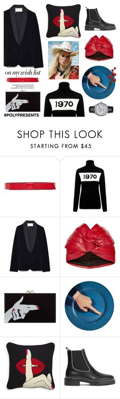 """""""#PolyPresents: Wish List"""" by tiziana-melera ❤ liked on Polyvore featuring Marni, Bella Freud, Gucci, Charlotte Olympia, Alexander Wang, Tissot, contestentry and polyPresents"""