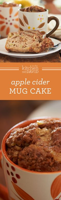 The Apple Cider Mug Cake You Can Eat Every Day