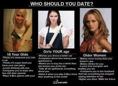 Dating older women jokes memes