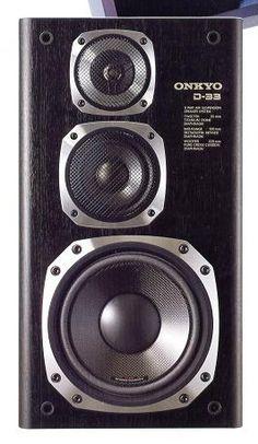 Onkyo D 66 1986 Vintage Speakers Audio Speakers