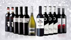 12-Bottle Prosecco and Red Wine Collection Stock up for the season or welcome guests aplenty with a 12-Bottle Prosecco And Red Wine Collection      Features 11 bottles of red wine of various varieties, and a bottle of prosecco:                3 x bottles