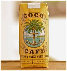 One strong shot of Fair Trade Organic Espresso + Pure Premium Coconut Water  + 2% Milk