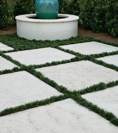 Grass Pavers, Outdoor Pavers, Garden Pavers, Travertine Pavers, Concrete Pavers, Landscape Pavers, Landscape Design, Peacock Pavers, Natural Stone Pavers