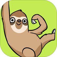 Happy Lazy Sloths Stickers by Przemyslaw Syktus